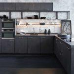 Keller keuken zwart