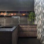 Phoenix keuken mat zwart